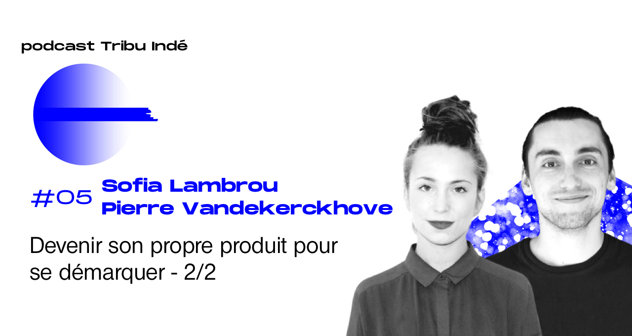 Podcast freelance, Sofia Lambrou, Pierre Vdk